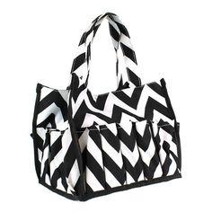 Multi Pocket Organizing Tote Bag