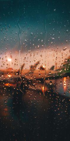 Glass surface, window, airport, sunset, drops, 1080x2160 wallpaper