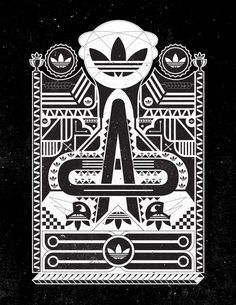 Adidas Originals (Black And White Series)
