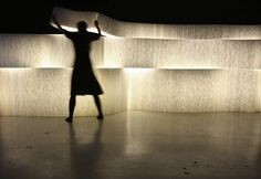 Softwall with LED lighting(2009) by Molo