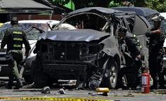 Mayo 15 de 2012 - Atribuyen a las Farc el atentado contra Fernando Londoño Hoyos (AFP/VANGUARDIA LIBERAL) #NoMasFarc