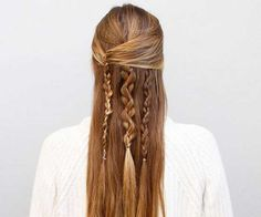 This 3-strand-braid hairstyle is perfect for braiding newbies. You only need to know how to complete a basic braid, but sneaky tricks—like tugging on the outside portions—give each strand a unique look.  Get Step-by-Step Instructions