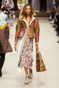 Loving the colors, patterns and textures in Burberry Prorsum Fall 2014 Ready-to-Wear Collection