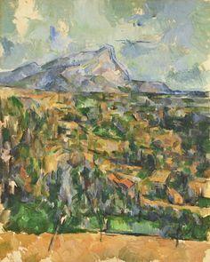 Paul Cézanne - Mont Sainte-Victoire. circa1902