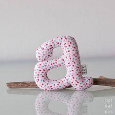 Letras  Blandas y perfectas para decorar la por Moixaines en Etsy, $6.00