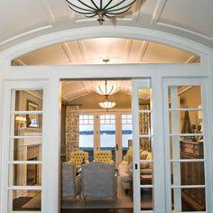 West Arm Cottage  Sliding french doors