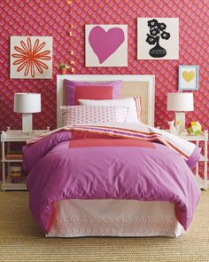Color Frame Duvet Cover & ShamsColor Frame Duvet Cover & Shams