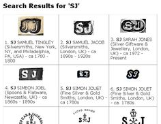 list of gold maker marks identify silver marks jewelry marks and metal ware marks