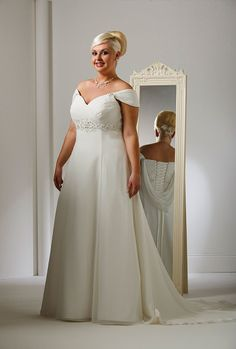 Special Day style 14903 ~ The Moderne Bridal, Cork  #plussizebride #plussizebridal
