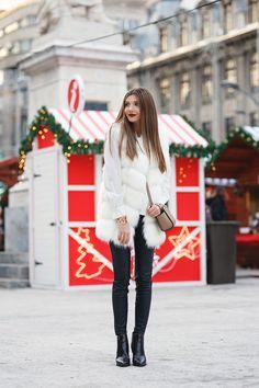 larisa costea, larisacostea, larisa costea blog, the mysterious girl, the mysteriousgirl blog, fashion blog,blogger, travel blog, christmas, saint nicolau, mos nicolae,mos craciun, cadouri de craciun, christmas presents ideas, snowflake, bucharest, univesity sqare, christmas spirit, decorations, piata universitatii, fur vest, vesta de blana, chic diva, chicdiva, michael kors, selma mini, luisa via roma, lvr, luisaviaroma, triwa, artelier, world cuff, leather leggings, zara, little mistress…