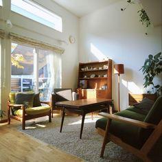 hisashiさんの、リビング,北欧,デザイナーズ,北欧インテリア,北欧ヴィンテージ,光と影,雑木の庭,のお部屋写真