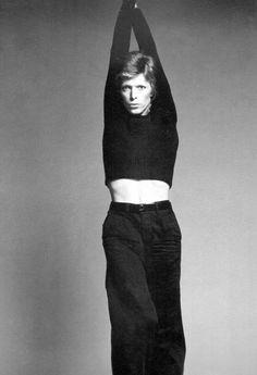 David Bowie by Francesco Scavullo