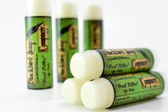 Frost Bitten - Lip Balm (Soothing mint for weathered lips)    Details and ingredients can be found on: BlackbirdSoap.com, Etsy, & Craft Cafe. Enjoy ♥