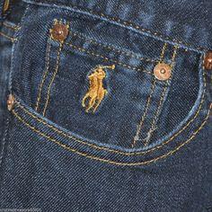 Love these Super Comfy Straight Leg Denim Jeans #RalphLaurenSport