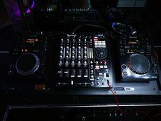 Consolle Pioneer CDJ 350 mixer Numark 5000fx