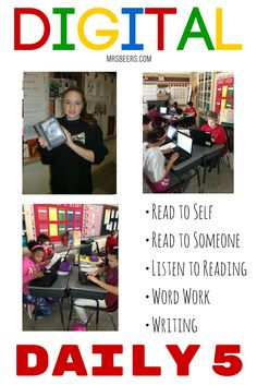 Using technology to enhance Daily 5 work in the upper elementary classroom.