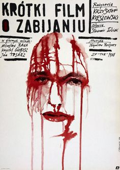 ideal poster for the great movie.  #Kieslowski