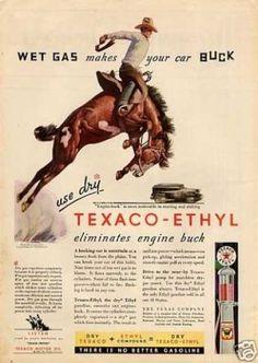 Texaco-ethyl Gasoline (1931)