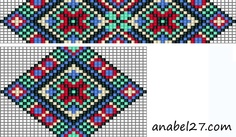 Native American Loom Beading Patterns Free Non Beading Patterns Free, Bead Loom Patterns, Peyote Patterns, Weaving Patterns, Cross Stitch Patterns, Free Pattern, Bead Loom Bracelets, Beaded Bracelet Patterns, Mochila Crochet