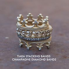 Stacking It Up Champagne Diamond Style ;)