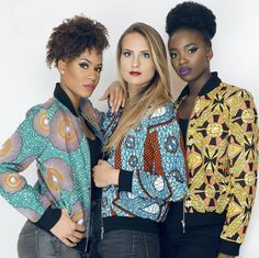 Bomber - Wax African Inspired Fashion, African Print Fashion, Africa Fashion, Fashion Prints, African Shop, African Models, African Wear, African Style, African Print Dresses