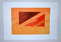Abstract Art Print P0094 / A4 on A3 by HaydunArt on Etsy, £6.00