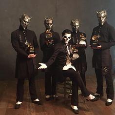The Grammys, Best Metal Performance 2016 https://www.instagram.com/p/BB1FWxuNdTa/?taken-by=thebandghost