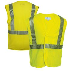 Security & Protection High Visibility Safety Work Vest Breathable Mesh Vest Crease-Resistance