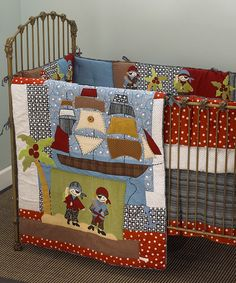 Pirate Cove Crib Bedding Set