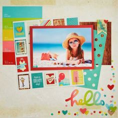 All Scrapbook Steals - The Blog: Simple Stories Good Day Sunshine