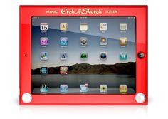 Etch-a-Sketch iPad case