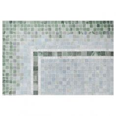 Mosaic Masterworks - love this for a bathroom floor.  Subtle shades of blue and green!