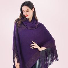Make like the snow and shimmer in this Shimmer Cape! #5 on the #GiftGuide!! Is purple not your color? This beautiful cape comes in 4 beautiful colors! #MadStyle #MyMadStyle #Holiday2016 #fashionista