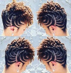 We presents to you the AMAZING NATURAL HAIR TWISTING STYLES. twisting hair style for natural hair 2019 ,natural hair twist styles for short hair ,twist hairstyles for short natural hair ,easy twist hairstyles for natural hair ,natural hair styles picture Hair Twist Styles, Flat Twist Hairstyles, Braid Styles, Braided Hairstyles, Curly Hair Styles, Dreadlock Hairstyles, African Natural Hairstyles, African Braids Hairstyles, Girl Hairstyles