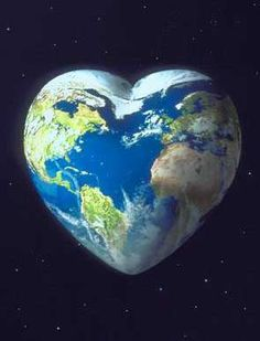 Holding the world in heartfelt compassion