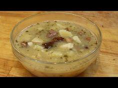Czeska zupa czosnkowa, Česnečka - Česneková polévka - Czeska Kuchnia - YouTube
