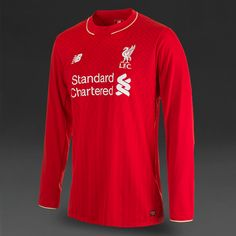 New Balance Liverpool FC Home LS Jersey - High Risk Red