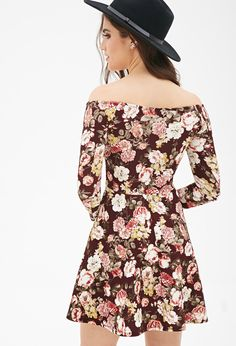 Vestido Estampado Floral - vestidos - 2000137391 - Forever 21 EU