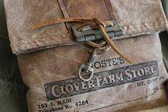 cinnamon creek dry goods | DIRTBAGS Farm Store, Dry Goods, American Country, Leather Purses, Cinnamon, Burlap, Reusable Tote Bags, Lady, Canela