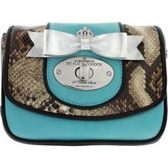 My Flat in London Grafton Flap Pouch to purchase call 951-734-5989
