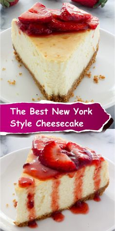 The Best New York-Style Cheesecake - Best easy cooking - Best easy cooking