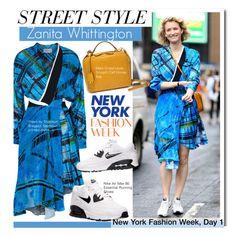 """NYFW STREET STYLE- Zanita Whittington (Day 1)"" by kusja ❤ liked on Polyvore featuring Preen, Mark Cross, NIKE, Under Armour, StreetStyle, NYFW, fashionWeek, PolyvoreNYFW and Zanita"