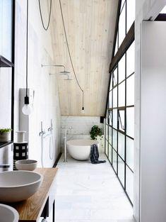 Fitzroy loft - Ensuite bathroom