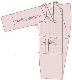 Ejemplos de modelos de capas, abrigos Demi-desarrollados sobre la base de un cortador de cálculo del programa