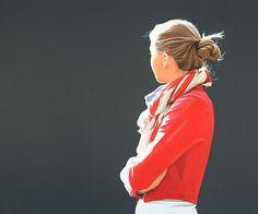 Sabine Liebchen - Back Portrait Paintings by Sabine Liebchen  <3 <3