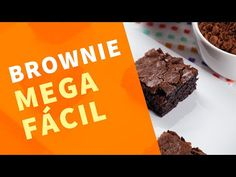 Brownie super fácil - confira o passo a passo em vídeo Brownies, Learn To Cook, Cookies, Desserts, Chocolates, Food, Youtube, Delicious Desserts, Cook