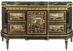 Peitra Dura Cabinet 1700s Maker Unknown