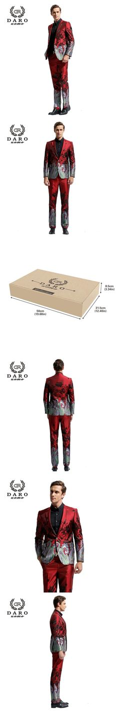 DARO 2017 Men's Blazer Suit Slim Casual Jacket without Pants Chinese Style Suit DR8828