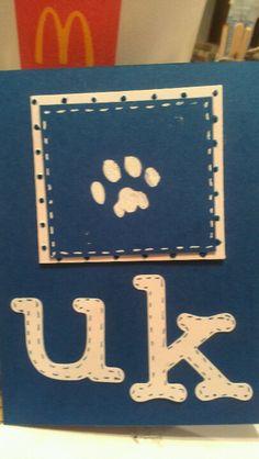 My UK card