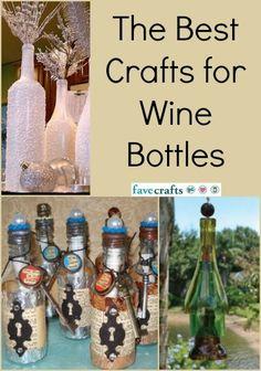 20 Crafts for Wine Bottles